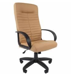 Кресло CHAIRMAN 480 LT/beige для руководителя, экокожа, цвет бежевый