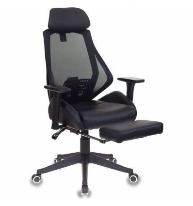 Кресло Бюрократ CH-770/BLACK игровое, сетка/ткань, цвет черный