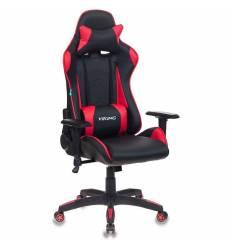 Кресло Бюрократ CH-778/BL+RED игровое, экокожа, черный/красный
