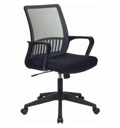 Кресло Бюрократ MC-201/DG/TW-11 для оператора, цвет серый/черный, спинка сетка