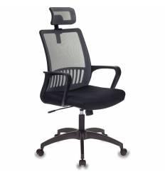 Кресло Бюрократ MC-201-H/DG/TW-11 для оператора, цвет серый/черный, спинка сетка