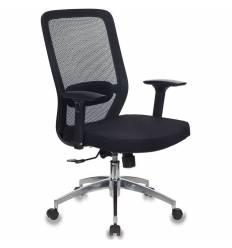 Кресло Бюрократ MC-715/B/26-B01 для оператора, сетка/ткань, цвет черный