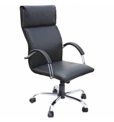 Кресло Стиль Гранд хром для руководителя