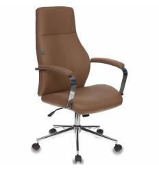 Кресло Бюрократ T-703SL/CAMEL для руководителя, экокожа, цвет светло-коричневый