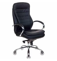 Кресло Бюрократ T-9950AXSN/BLACK-PU  для руководителя, экокожа, цвет черный