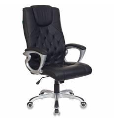 Кресло Бюрократ CH-S850/BLACK для руководителя, экокожа, цвет черный