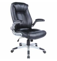 Кресло Бюрократ CH-S860A/BLACK для руководителя, экокожа, цвет черный