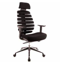 Кресло EVERPROF ERGO Black для руководителя, ткань, цвет черный