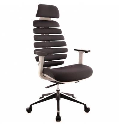 Кресло EVERPROF ERGO Grey для руководителя, ткань, цвет серый