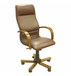 Кресло Стиль Пегас дерево для руководителя