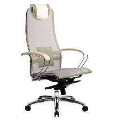 Кресло Samurai S-1.02 Beige для руководителя, сетка, цвет бежевый