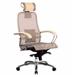 Кресло Samurai S-2.02 Beige для руководителя, сетка, цвет бежевый