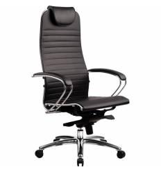 Кресло Samurai K-1.02 Black для руководителя, кожа, цвет черный