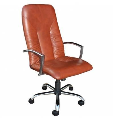 Кресло Стиль Спиро хром для руководителя