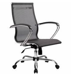 Кресло SkyLine S-2 (С, Ch) черный для руководителя, сетка