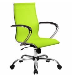 Кресло SkyLine S-2 (С, Ch) лайм для руководителя, сетка