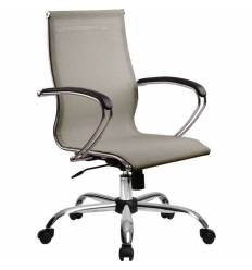 Кресло SkyLine S-2 (С, Ch) серый для руководителя, сетка