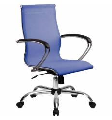 Кресло SkyLine S-2 (С, Ch) васильковый для руководителя, сетка