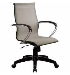 Кресло SkyLine S-2 (K, Pl) серый для руководителя, сетка
