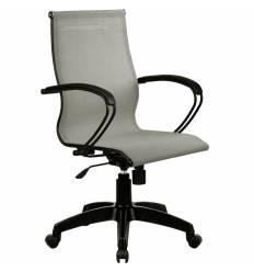 Кресло SkyLine S-2 (B, Pl) серый для руководителя, сетка