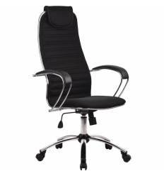 Кресло Metta BC-5 CH черный для руководителя, ткань (Галакси Ультра)