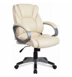 Кресло BRABIX Eldorado EX-504 для руководителя, экокожа, бежевое