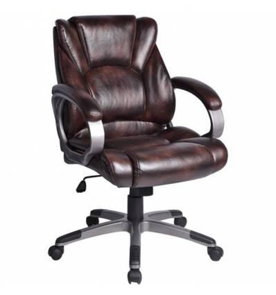 Кресло BRABIX Eldorado EX-504 для руководителя, экокожа, коричневое