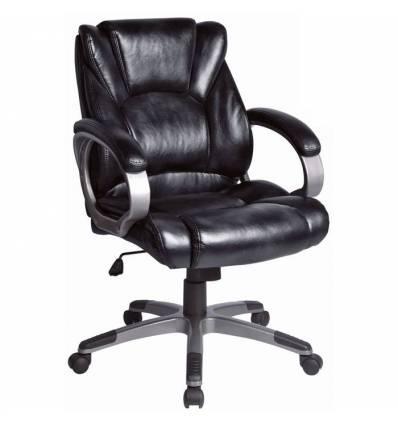 Кресло BRABIX Eldorado EX-504 для руководителя, экокожа, черное