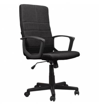 Кресло BRABIX Focus EX-518 для руководителя, ткань, черное