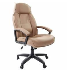 Кресло BRABIX Formula EX-537 для руководителя, экокожа, песочное