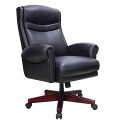 Кресло BRABIX Gladiator EX-700 для руководителя, дерево, натуральная кожа, черное