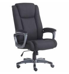 Кресло BRABIX Solid HD-005 для руководителя, усиленное до 180 кг, ткань, черное