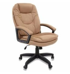 Кресло BRABIX Trend EX-568 для руководителя, экокожа, бежевое
