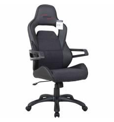 Кресло BRABIX GT Nitro GM-001 игровое, ткань, экокожа, черное