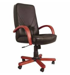 Кресло Стиль Комо дерево для руководителя