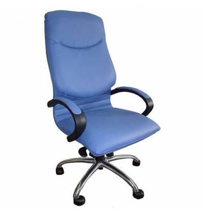 Кресло Стиль Электра хром для руководителя