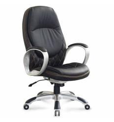 Кресло NORDEN Iowa для руководителя, экокожа, цвет черный