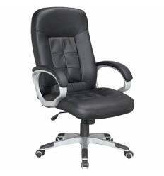 Кресло NORDEN Jack для руководителя, экокожа, цвет черный