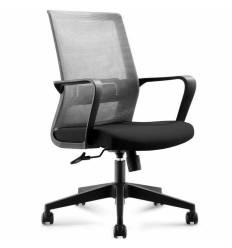 Кресло NORDEN Inter LB Black для руководителя, сетка, ткань, цвет черный