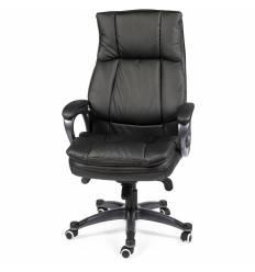Кресло NORDEN Medison Black для руководителя, экокожа, цвет черный