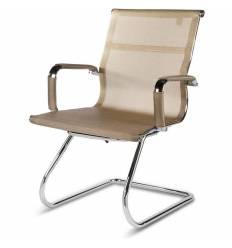 Кресло NORDEN Helmut CF Bronze для посетителя, хром, сетка, цвет бронзовый