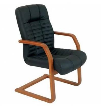 Кресло Стиль Атлант/О дерево для посетителя