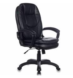 Кресло Бюрократ CH-868LT/B для руководителя, экокожа, цвет черный