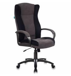 Кресло Бюрократ CH-879N/DG/F-C  для руководителя, ткань, цвет кофейный