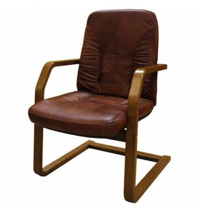 Кресло Стиль Вадер/О дерево для посетителя