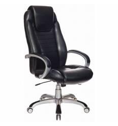 Кресло Бюрократ T-9923/BLACK-PU для руководителя, экокожа, цвет черный