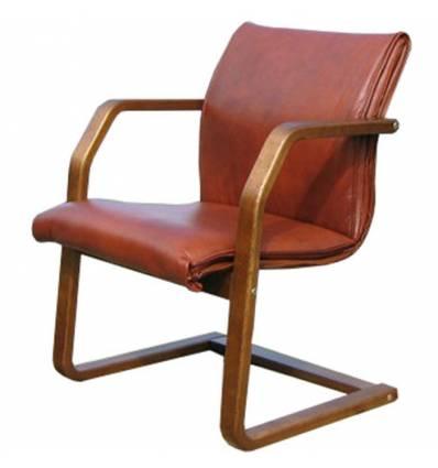 Кресло Стиль Гранд/О дерево для посетителя