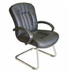 Кресло Стиль Зеус/О хром для посетителя