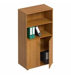 Шкаф для документов СТОРОСС Формула ФР-363-ОН полузакрытый, 80*45*148, цвет орех натуральный