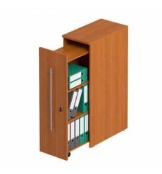 Стеллаж вертикальный СТОРОСС Формула ФР-340-ЛХ для документов, с замком, 38*69*121, цвет ольха